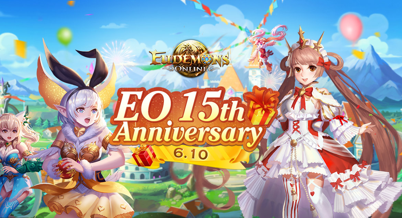 Eudemons Online - EO 15th Anniversary