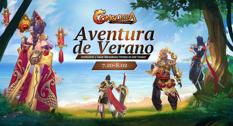 Conquista Online Aventura de Verano