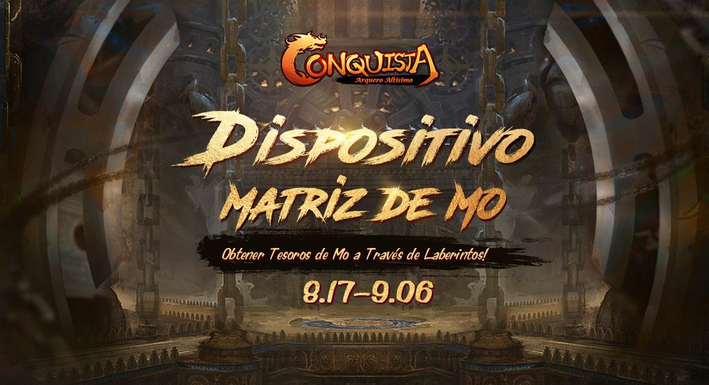 Conquista Online Dispositivo Matriz de Mo