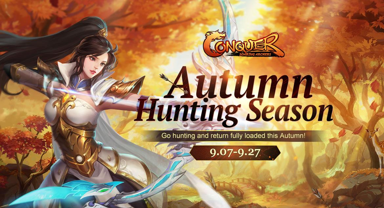 Conquer Online Autumn Hunting Season