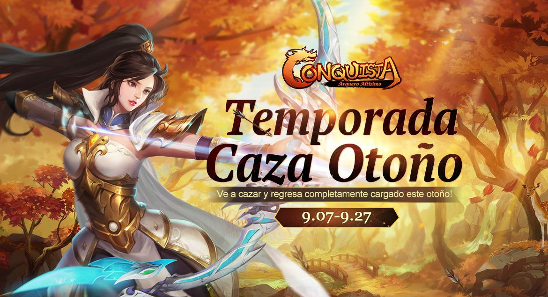 Conquista Online Temporada Caza Otoño