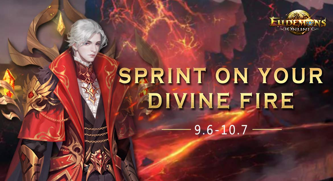 Eudemons Online Sprint On your Divine Fire