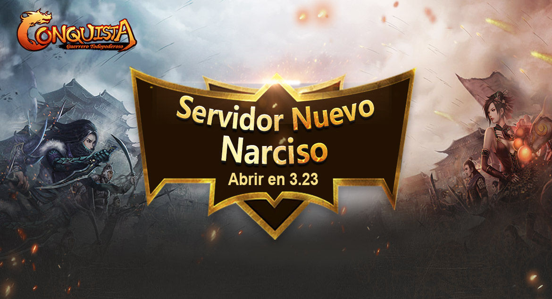Conquista Online Servidor nuevo Narciso