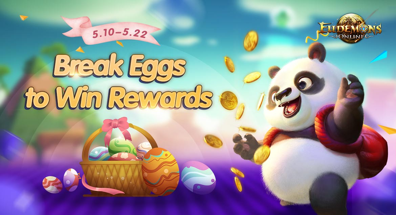 eudemons online - breack eggs to win rewards portada